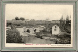 CPA - NAVARRENC (64) - Aspect De L'Usine électrique Et Du Pont Sur Le Gave D'Oloron En 1906 - France