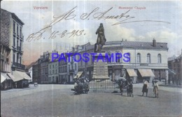 120525 BELGIUM VERVIERS MONUMENT CHAPUIS BREAK POSTAL POSTCARD - Ohne Zuordnung