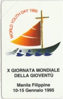 SCHEDA TELEFONICA NUOVA VATICANO SCV10 X GIORNATA MONDIALE GIOVENTU - Vaticano