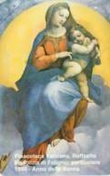SCHEDA TELEFONICA NUOVA VATICANO SCV13 RAFFAELLO MADONNA DI FOLIGNO - Vaticano
