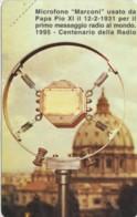 SCHEDA TELEFONICA NUOVA VATICANO SCV14 MICROFONO MARCONI - Vaticano