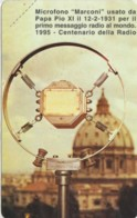 SCHEDA TELEFONICA NUOVA VATICANO SCV14 MICROFONO MARCONI - Vaticaanstad