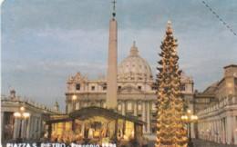 SCHEDA TELEFONICA NUOVA VATICANO SCV16 PIAZZA SAN PIETRO - Vaticano