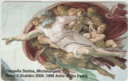 SCHEDA TELEFONICA NUOVA VATICANO SCV52 CAPPELLA SISTINA - Vaticano