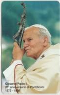 SCHEDA TELEFONICA NUOVA VATICANO SCV53 GIOVANNI PAOLO II - Vaticano