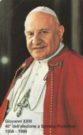 SCHEDA TELEFONICA NUOVA VATICANO SCV55 GIOVANNI XXIII 40 ELEZIONE - Vaticaanstad