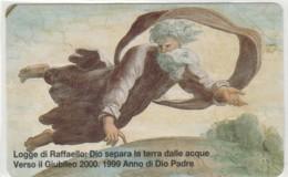 SCHEDA TELEFONICA NUOVA VATICANO SCV56 LOGGE DI RAFFAELLO - Vaticaanstad