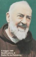 SCHEDA TELEFONICA NUOVA VATICANO SCV60 BEATIFICAZIONE PADRE PIO - Vaticaanstad