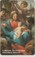 SCHEDA TELEFONICA NUOVA VATICANO SCV62 SACRA FAMIGLIA - Vaticano