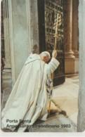 SCHEDA TELEFONICA NUOVA VATICANO SCV63 ANNO SANTO STRAORDINARIO - Vaticaanstad