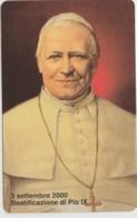 SCHEDA TELEFONICA NUOVA VATICANO SCV74 BEATIFICAZIONE PIO PIO IX - Vaticano