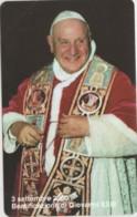 SCHEDA TELEFONICA NUOVA VATICANO SCV76 BEATIFICAZIONE GIOVANNI XXIII - Vaticano
