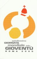 SCHEDA TELEFONICA NUOVA VATICANO SCV77 XV GIORNATA MONDIALE GIOVENTU - Vaticaanstad