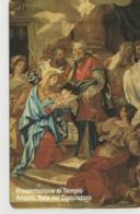 SCHEDA TELEFONICA NUOVA VATICANO SCV82 PRESENTAZIONE AL TEMPIO - Vaticano