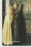 SCHEDA TELEFONICA NUOVA VATICANO SCV83 CHIUSURA PORTA SANTA - Vaticano