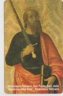 SCHEDA TELEFONICA NUOVA VATICANO SCV84 SAN PAOLO - Vaticano
