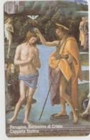 SCHEDA TELEFONICA NUOVA VATICANO SCV86 BATTESIMO DI CRISTO - Vaticano