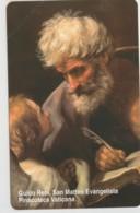 SCHEDA TELEFONICA NUOVA VATICANO SCV87 SAN MATTEO EVANGELISTA - Vaticaanstad
