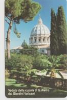 SCHEDA TELEFONICA NUOVA VATICANO SCV89 CUPOLA DI S.PIETRO - Vaticaanstad