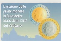 SCHEDA TELEFONICA NUOVA VATICANO SCV92 EMISSIONE IN EURO - Vaticaanstad