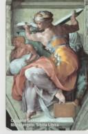SCHEDA TELEFONICA NUOVA VATICANO SCV95 SIBILLA LIBICA - Vaticano