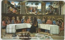 SCHEDA TELEFONICA NUOVA VATICANO SCV96 ULTIMA CENA - Vaticano