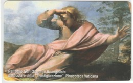 SCHEDA TELEFONICA NUOVA VATICANO SCV101 RAFFAELLO SAN GIOVANNI - Vaticaanstad