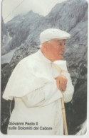 SCHEDA TELEFONICA NUOVA VATICANO SCV100 GIOVANNI PAOLOO II - Vaticano