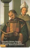 SCHEDA TELEFONICA NUOVA VATICANO SCV105 SANTI LORENZO E LUIGI DI TOLOSA - Vaticano
