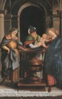 SCHEDA TELEFONICA NUOVA VATICANO SCV109 RAFFAELLO PRESENTAZIONE AL TEMPIO - Vaticaanstad