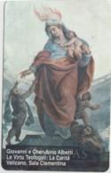 SCHEDA TELEFONICA NUOVA VATICANO SCV125 LA CARITA' - Vaticano