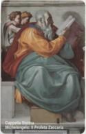 SCHEDA TELEFONICA NUOVA VATICANO SCV137 PROFETA ZACCARIA - Vaticano