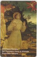 SCHEDA TELEFONICA NUOVA VATICANO SCV151 SAN FRANCESCO STIMMATE - Vaticaanstad