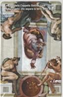 SCHEDA TELEFONICA NUOVA VATICANO SCV159 CAPPELLA SISITNA - Vaticaanstad
