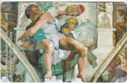 SCHEDA TELEFONICA NUOVA VATICANO SCV158 MICHELANGELO IL PROFETA GIONA - Vaticaanstad