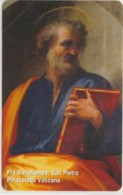 SCHEDA TELEFONICA NUOVA VATICANO SCV157 FRA BARTOLONEO SAN PIETRO - Vaticano