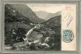 CPA - GABAS (64) - Aspect De La Scierie Hydraulique Actionnée Par Les Eaux Du Gave D'Ossau En 1904 - Andere Gemeenten