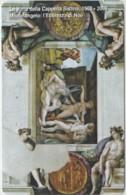 SCHEDA TELEFONICA NUOVA VATICANO SCV161 CAPPELLA SISTINA - Vaticaanstad