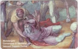 SCHEDA TELEFONICA NUOVA VATICANO SCV170 CONVERSIONE DI SAN PAOLO - Vaticaanstad