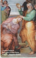 SCHEDA TELEFONICA NUOVA VATICANO SCV171 GUARIGIONE DI SAN PAOLO - Vaticaanstad