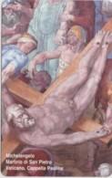 SCHEDA TELEFONICA NUOVA VATICANO SCV173 MARTIRIO DI SAN PIETRO - Vaticano