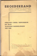 BROEDERBAND CYRIEL VERSCHAEVE Handlanger SS? 1965 80 Blz Solbad-Hall Begraven - Oorlog 1939-45