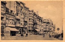 Westende  Zicht Op De Dijk En Het Strand   Avenue Des Mouettes Meeuwenlaan     L 1268 - Westende