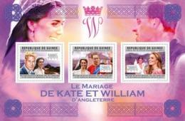 Guinea, 2011. [gu11611] Royal Weddings - Prince William & Katherine Middleton (s\s) - Familias Reales