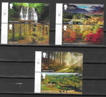 UK, 2019,MNH,  FORESTS, WATERFALLS, 6v - Other