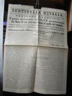 (G37) SENTINELLA D' ITALIA, ANNO VII N° 258 29/30 OTTOBRE 1936 , QUOTIDIANO DEL PARTITO NAZIONALE FASCISTA - Riviste & Giornali