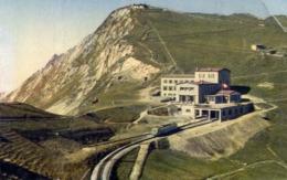 Rochers De Naye - L'hotel Et Le Sommet - Formato Piccolo Viaggiata – E 13 - Cartoline