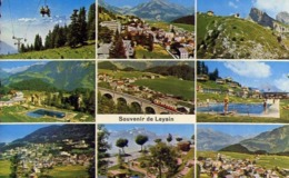 Souvenir De Leysin - Formato Piccolo Viaggiata – E 13 - Cartoline