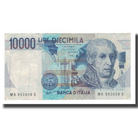 Billet, Italie, 10,000 Lire, D.1984, 1984-09-03, KM:112a, TB+ - 10000 Lire