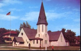 St.george's New Episcopal Church - Bismarck North Dakota - Formato Piccolo Viaggiata Mancante Di Affrancatura – E 13 - Cartoline
